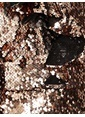 Koton Pul Detaylı Mini Abiye Elbise Bronz
